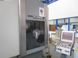 Milling machines DMG DMU 50 EVO LINEAR 5-ACHSEN (USED)