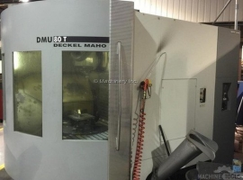 Milling machines DMG DMU 80T FULL 5 AXIS SIMULTANEOUS (USED)