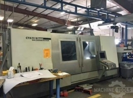 Lathes DMG CTX620V4 LINEAR 2M (USED)
