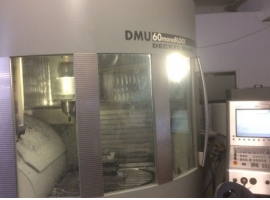 Milling machines DMG DMU60 MONOBLOCK (USED)