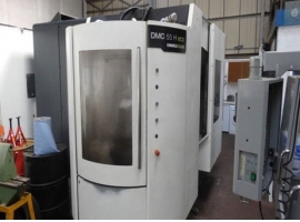 Milling machines DMG DMC 55H ECO (USED)